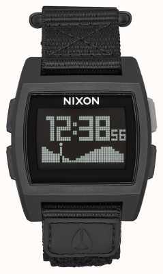 Nixon Base de marée en nylon | surplus | numérique | bracelet en nylon vert A1169-1085-00