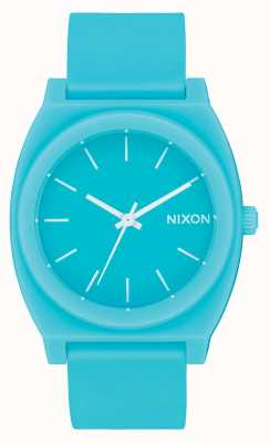Nixon Time Teller p | jade minéral mat | bracelet en silicone jade | cadran de jade A119-3011-00