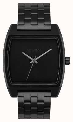 Nixon Suivi du temps | tout noir | bracelet en acier ip noir | cadran noir A1245-001-00