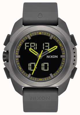 Nixon Ripley | gunmetal | numérique | bracelet en tpu gris bronze | A1267-131-00