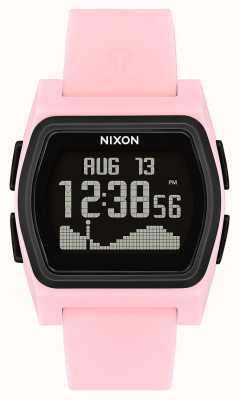 Nixon Rival | rose / noir | numérique | strao en silicone rose A1236-2531-00