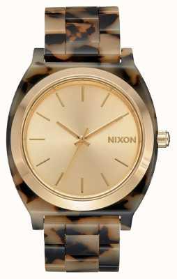 Nixon Time Teller acétate | tortue à la crème | cadran crème A327-3346-00