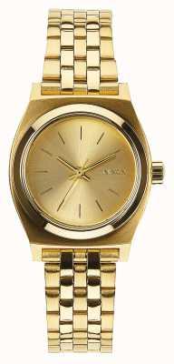 Nixon Petite caissière | tout l'or | bracelet en acier ip or | cadran en or A399-502-00