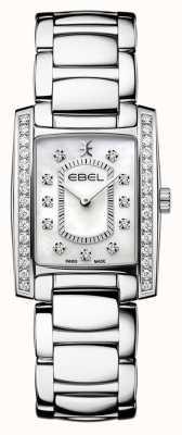 EBEL Brasilia pour femmes | bracelet en acier inoxydable | cadran en nacre ou en nacre 1216463