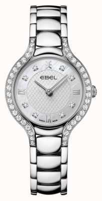 EBEL Béluga féminin | bracelet en acier inoxydable | cadran en nacre | serti de diamants 1216465