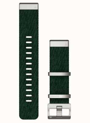 Garmin Bracelet vert en nylon tissé jacquard Quickfit 22 010-13008-00