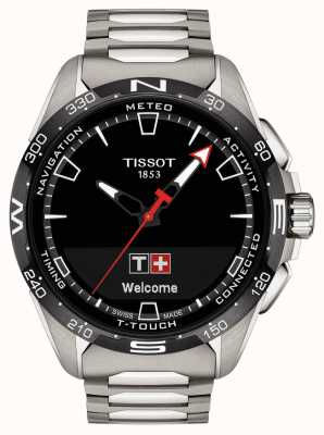 Tissot T-touch connect solaire | titane T1214204405100
