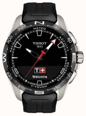 Tissot T-touch connect solaire | bracelet en silicone noir T1214204705100