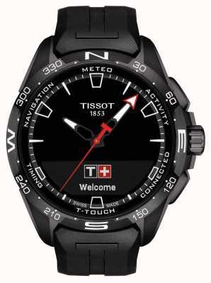 Tissot T-touch connect solaire | bracelet en silicone noir T1214204705103