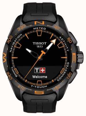 Tissot T-touch connect solaire | bracelet en silicone noir T1214204705104