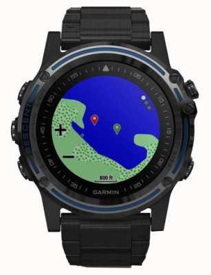 Garmin Ordinateur de plongée Descent mk1 | saphir gris avec titane dlc 010-01760-11