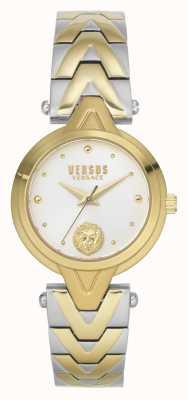 Versus Versace Femmes v_versus forlanini | bracelet en acier bicolore | cadran argenté VSPVN1020