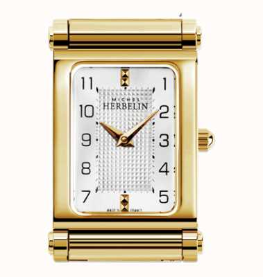 Michel Herbelin Antarès | cadran de montre plaqué or uniquement H.17048/P28