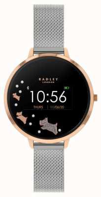 Radley Tracker d'activité Série 03 | bracelet en maille d'acier inoxydable RYS03-4001