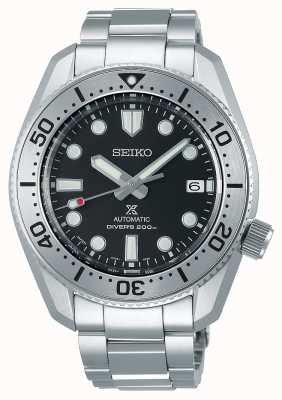 Seiko Réinterprétation de Prospex 1968 | bracelet en titane | cadran noir | verre saphir SPB185J1