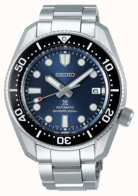 Seiko Réinterprétation de Prospex 1968 | bracelet en titane | cadran bleu SPB187J1