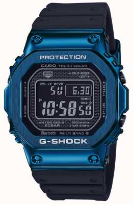 Casio G-Shock Blue Tough Solar Blue IP plaqué GMW-B5000G-2ER