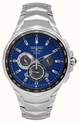 Seiko Coutura | bracelet en acier inoxydable | cadran bleu SSC749P1