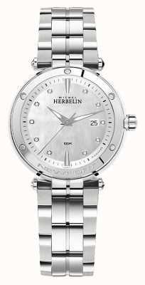 Michel Herbelin Newport | bracelet en acier inoxydable pour femme 14288/B89