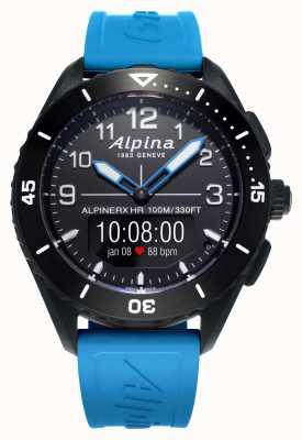 Alpina | alpinerx vivant | bracelet en caoutchouc bleu | AL-284LBBW5AQ6