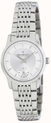 Dreyfuss Montre bracelet en acier inoxydable pour femme DLB00001/02