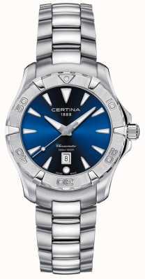 Certina Femmes | action ds | acier inoxydable | cadran bleu C0322511104100