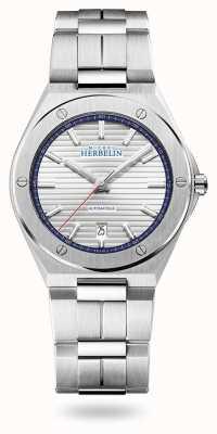 Michel Herbelin Cap camarat | automatique | cadran argenté | bracelet en acier inoxydable 1645/B42