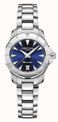 Certina Cadran bleu DS Action femme 200m C0329511104100