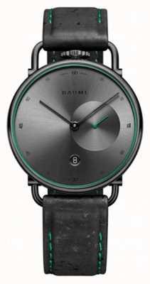 Baume & Mercier Baume | quartz écologique | cadran gris | bracelet en liège noir M0A10599