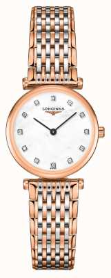 Longines Femmes | la grande classique | cadran diamant | bracelet en acier bicolore L42091977