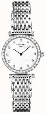 Longines Femmes | la grande classique | cadran blanc diamant | acier inoxydable L43410806