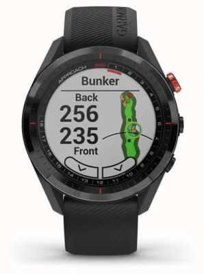 Garmin Approche s62 | gps de golf | lunette cermamique | silicone noir 010-02200-00