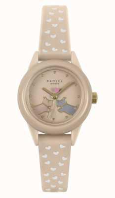 Radley Regarde ça! | bracelet en silicone nude pour femme | cadran nu RY21258