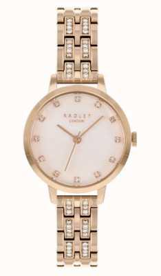 Radley | femmes | bracelet plaqué or rose | cadran blanc | RY4560