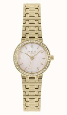 Radley | femmes | bracelet en acier plaqué or | cadran en nacre | RY4564