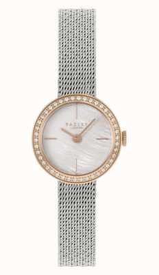 Radley | femmes | bracelet en maille d'acier argenté | cadran en nacre | RY4567