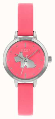 Radley Bracelet en cuir rose vif pour femme | cadran rose RY21253A