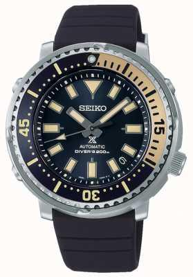 Seiko Prospex | street series thon édition safari | bracelet en silicone bleu | cadran bleu SRPF81K1