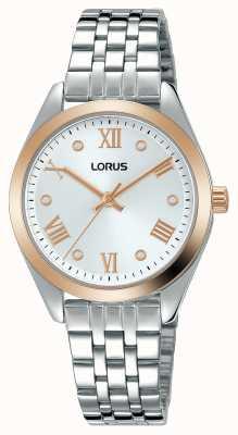 Lorus Femmes | cadran argenté | bracelet en acier inoxydable RG256SX9