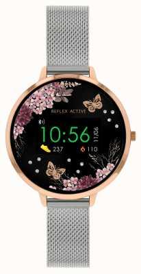 Reflex Active Montre intelligente série 3 | bracelet en maille d'acier inoxydable RA03-4037