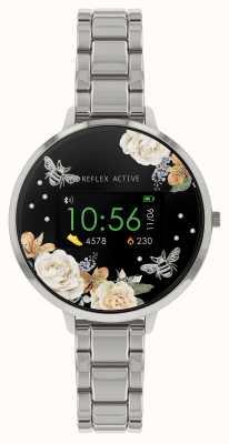 Reflex Active Montre intelligente série 3 | bracelet en acier inoxydable RA03-4007