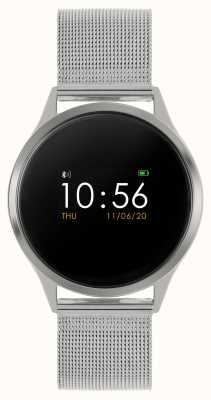 Reflex Active Montre intelligente série 4 | écran tactile couleur | bracelet en maille d'acier inoxydable RA04-3001