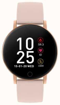 Reflex Active Montre intelligente série 5 | moniteur hr | écran tactile couleur | bracelet rose RA05-2020
