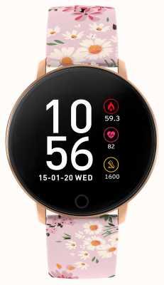 Reflex Active Montre intelligente série 5 | moniteur hr | écran tactile couleur | bracelet rose RA05-2062