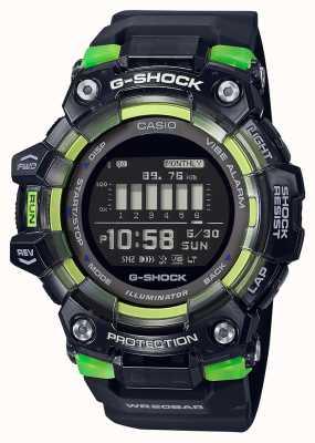 Casio G-shock | sports série vitale | bracelet en silicone noir | cadran noir GBD-100SM-1ER