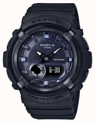 Casio Baby-g | bracelet en résine noire | cadran noir | BGA-280-1AER