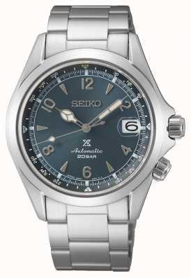 Seiko Alpiniste homme 2021 édition européenne | cadran bleu | bracelet en acier inoxydable SPB197J1