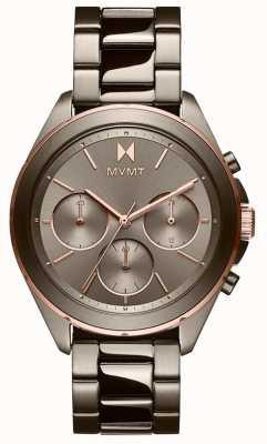 MVMT Escapade | bracelet ip gris pour femme | cadran gris 28000130-D