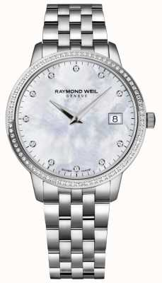 Raymond Weil Toccata | cadran diamant nacre femme | 5388-STS-97081