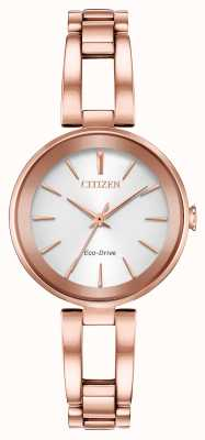 Citizen Bracelet Femme Eco-Dive Axiom Or Rose EM0633-53A